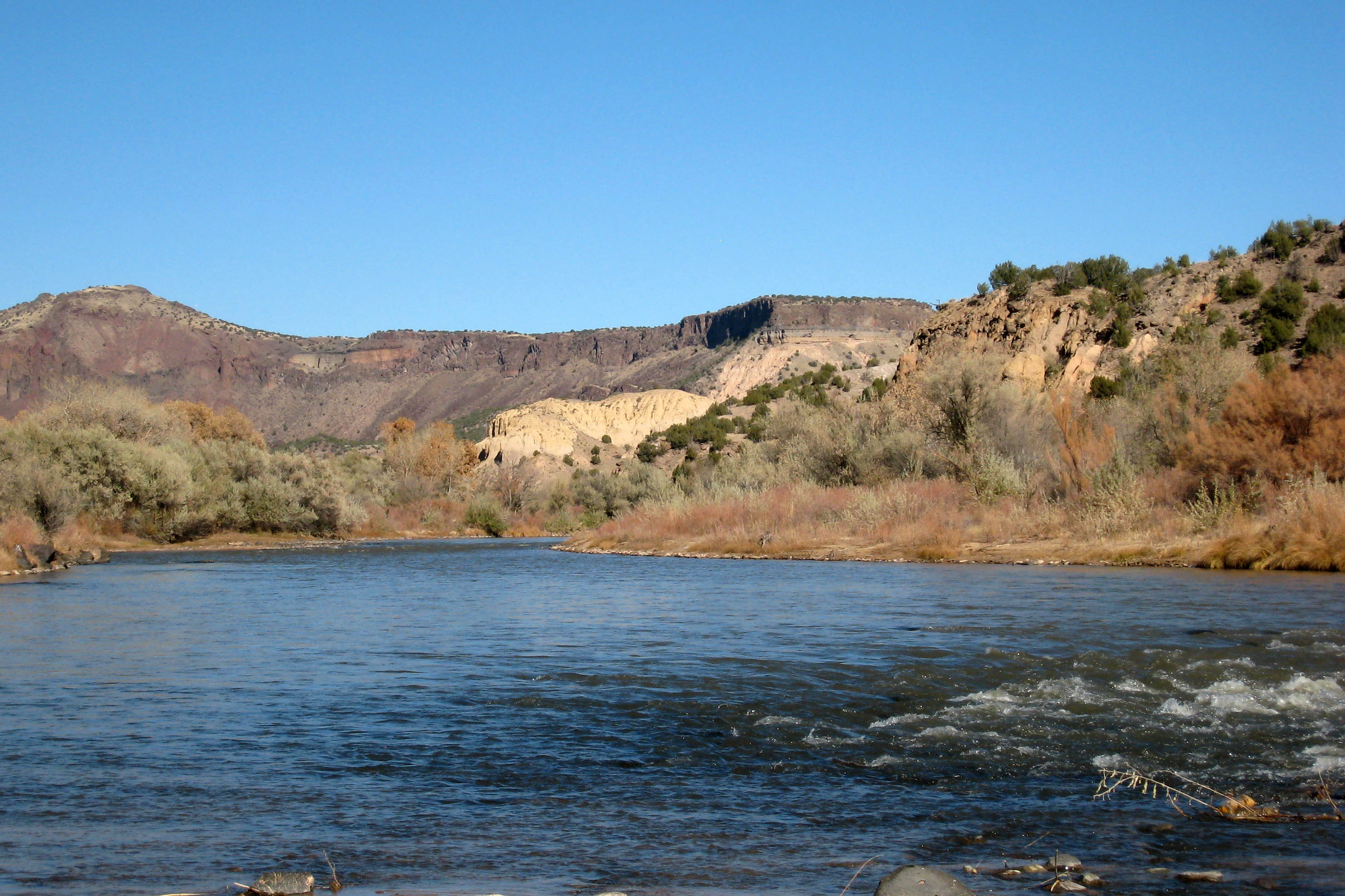 Rio Grande White Rock Canyon